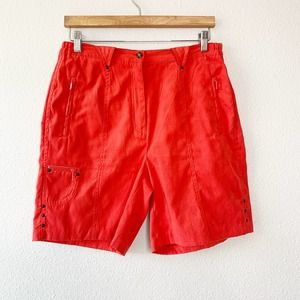 Jamie Sadock Red Golf Tennis Sport Shorts 8